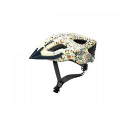 ABUS kerékpáros városi sisak Aduro 2.0, In-Mold, cream flower, S (51-55 cm)