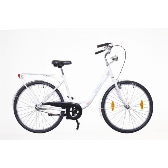 """Neuzer Balaton 26"""" Fehér City - Városi kerékpár"""