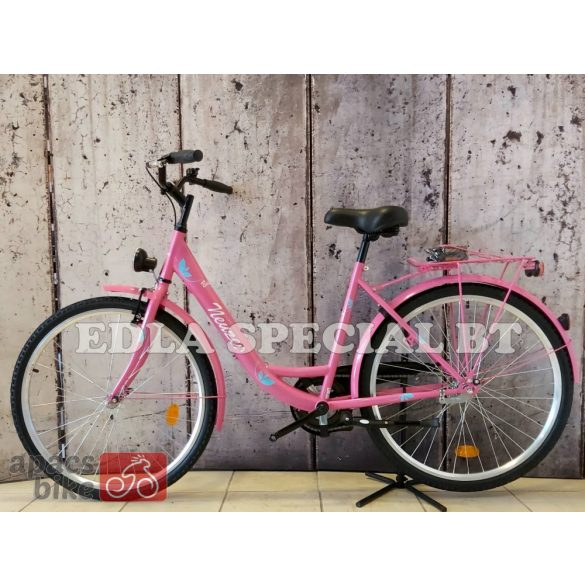 """Neuzer Balaton 26"""" Pink City - Városi kerékpár"""