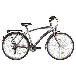 "Koliken 28"" Gisu férfi trekking kerékpár Grafit"