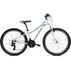 Kross Lea 1.0 D 26 XXS whi_blu_g Mtb kerékpár