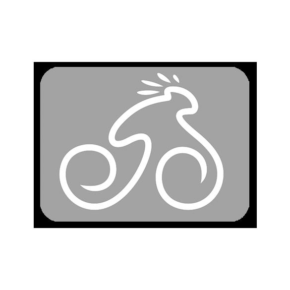 E-650B fekete/fehér-cián 17 MTB kerékpár