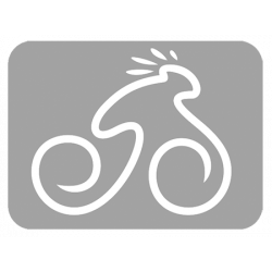 Cougar férfi fehér/fekete-piros 17 MTB Sport kerékpár