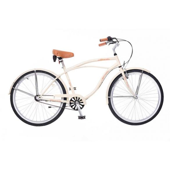 Neuzer California férfi krém Cruiser kerékpár