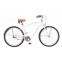 Neuzer Beach férfi fehér Cruiser kerékpár