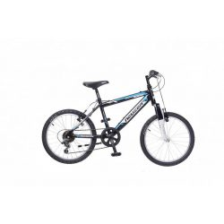 Mistral 20 fiú fekete/fehér- Gyerek kerékpár