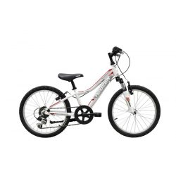 Mistral 20 fiú fehér-piros Gyerek kerékpár