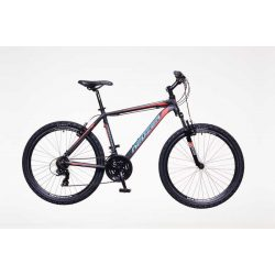 Mistral 30 férfi fekete/zöld-szürke 15 telescopic MTB Hobby kerékpár