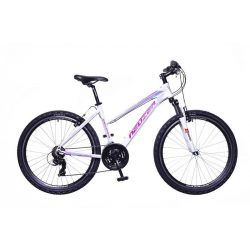 Mistral 30 női fehér/pink-purple 19 telescopic MTB Hobby kerékpár
