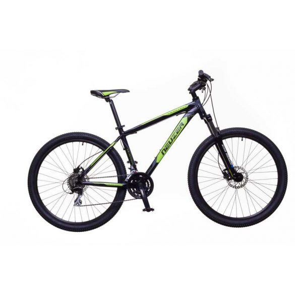 Neuzer Duster Comp Hydr férfi fekete/zöld-szürke 17 MTB Sport kerékpár