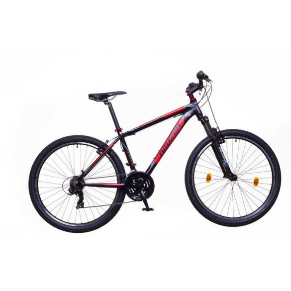 Neuzer Duster Hobby férfi fekete/red-szürke 17 MTB Sport kerékpár