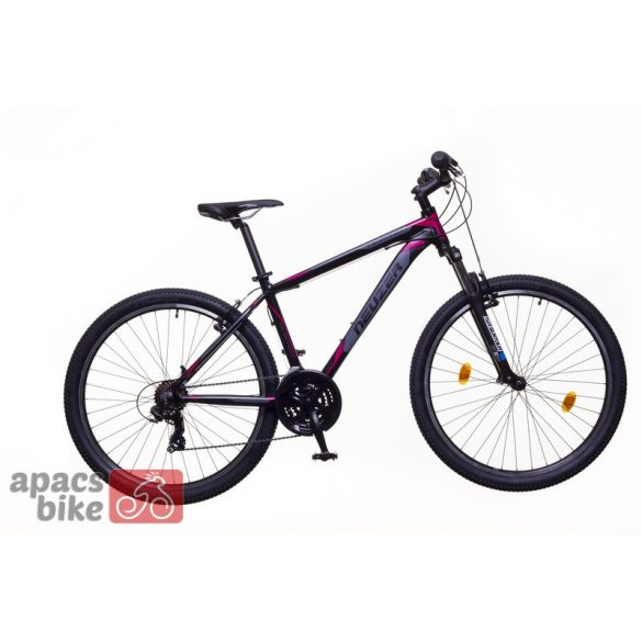Neuzer Duster Hobby férfi fekete/ pink-szürke 19 MTB Sport kerékpár