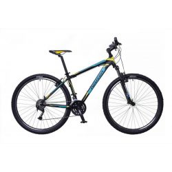 Neuzer Jumbo Sport férfi fekete/türkiz-sárga 17 MTB Sport kerékpár