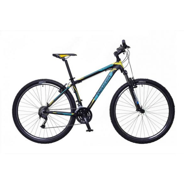 Neuzer Jumbo Sport férfi fekete/türkiz-sárga 21 MTB Sport kerékpár