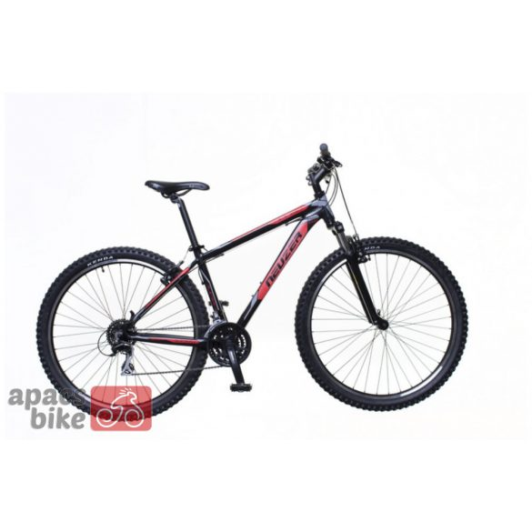 Neuzer Jumbo Sport férfi fekete/red- szürke 19 MTB Sport kerékpár