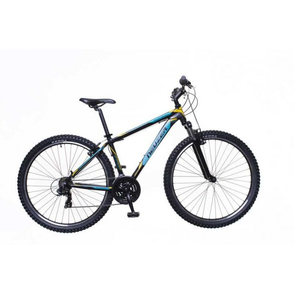 Jumbo Hobby férfi fekete/türkiz-sárga 19 MTB Sport kerékpár