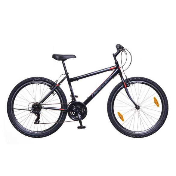 Neuzer Nelson 30 férfi fekete/szürke-piros 15 MTB Hobby kerékpár
