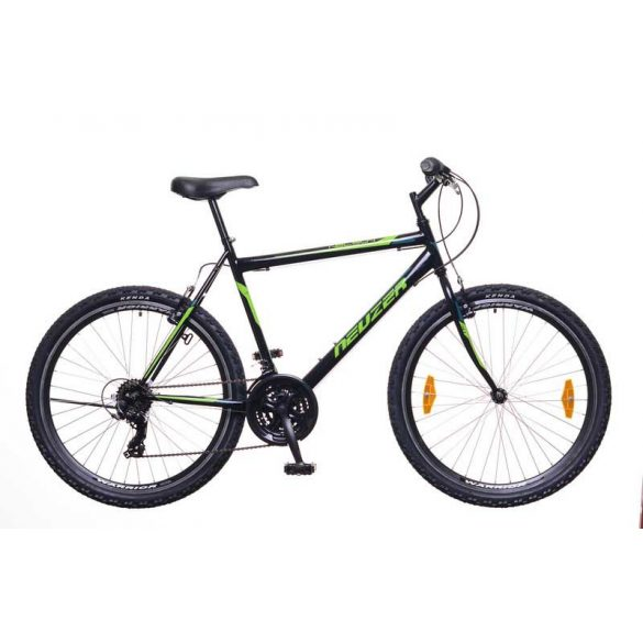 Neuzer Nelson 30 férfi fekete/neon zöld-zöld 21 MTB Hobby kerékpár
