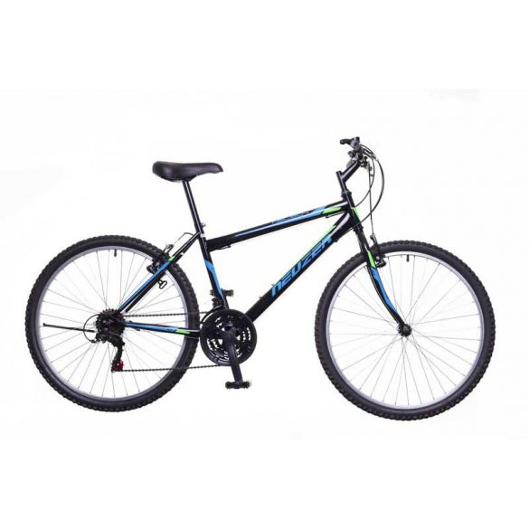 Neuzer Nelson 18 férfi fekete/türkiz-neon zöld 19 MTB Hobby kerékpár