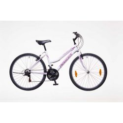 Neuzer Nelson 18 női fehér/purple-mallow 17 MTB Hobby kerékpár