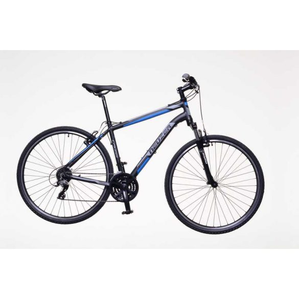 Neuzer X200 férfi fekete/kék-szürke 19 Cross kerékpár