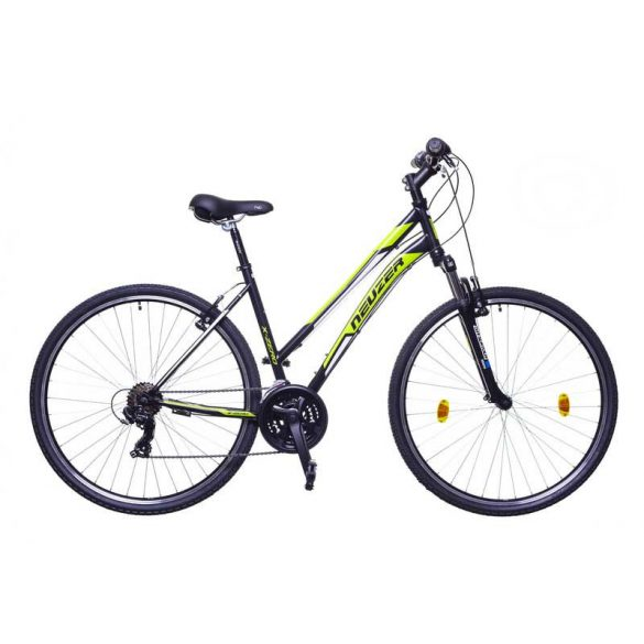 Neuzer X-Zero női fekete/zöld-fehér 17 Cross kerékpár