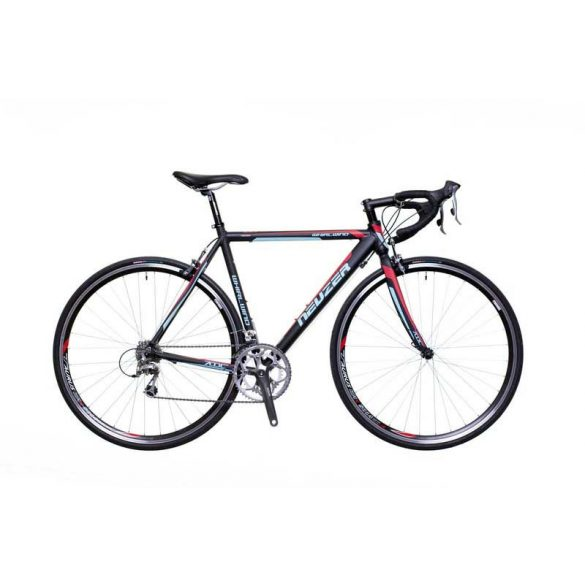 Neuzer Whirlwind 200 fekete/türkiz-pink 56cm Országúti kerékpár