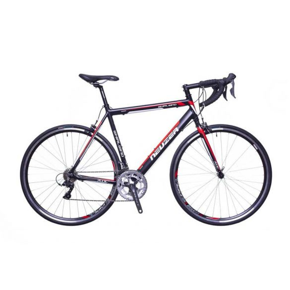 Neuzer Whirlwind 100 fekete/fehér-piros 56cm Országúti kerékpár
