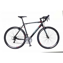 Neuzer Courier CX fekete/türkiz-piros matte 50 cm Gravel kerékpár