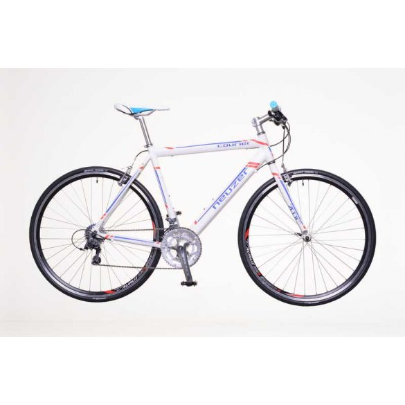 Neuzer Courier DT fehér/kék-piros 60 cm Fitness kerékpár