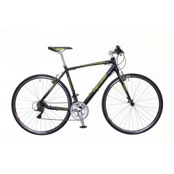Neuzer Courier DT fekete/zöld-szürke 59 cm matte Fitness kerékpár