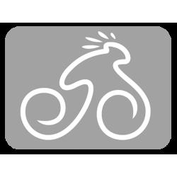 Courier  fekete/türkiz-piros 56 cm matte Fitness kerékpár