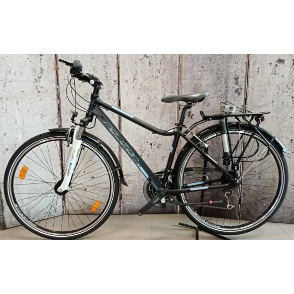 Neuzer Ravenna 300 férfi fekete/szürke-szürke 19 matte Trekking kerékpár