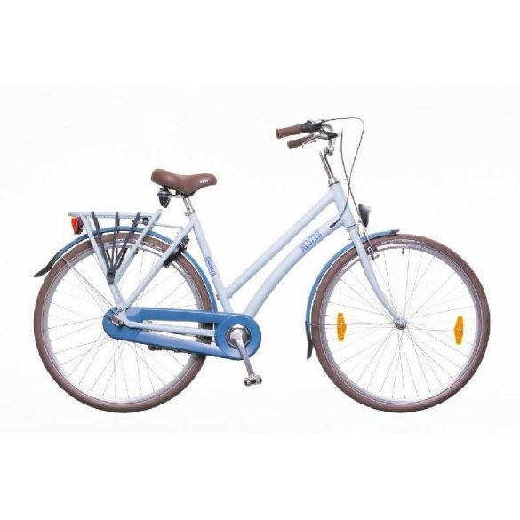 Neuzer Brooklyn N7 női világoskék/sötétkék 20 Trekking kerékpár