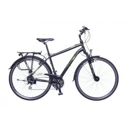 Firenze 200 férfi fekete/ zöld-szürke matte 19 Trekking kerékpár