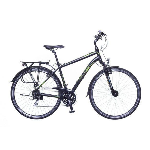 Neuzer Firenze 200 férfi fekete/ zöld-szürke matte 21 Trekking kerékpár