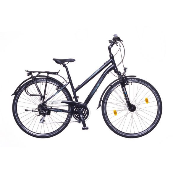Neuzer Firenze 200 női fekete/ szürke-türkiz matte 17 Trekking kerékpár