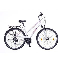 Neuzer Firenze 200 női fehér/mallow matte 17 Trekking kerékpár