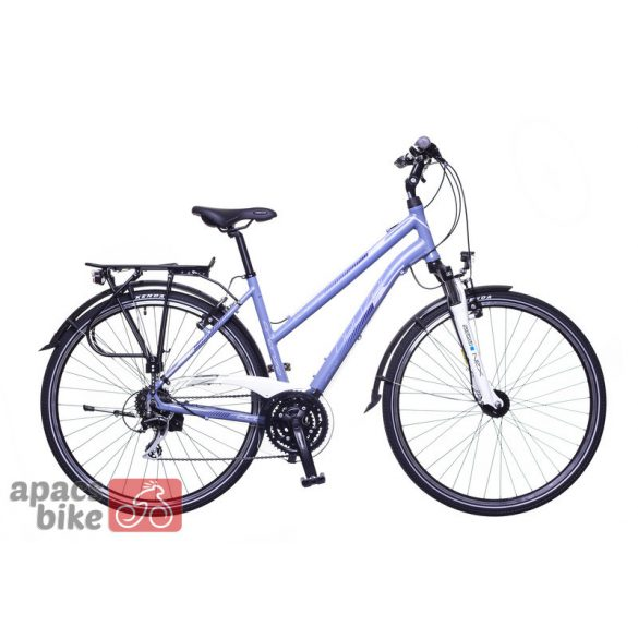 Neuzer Firenze 200 női szürke/ light pink-fekete matte 19 Trekking kerékpár