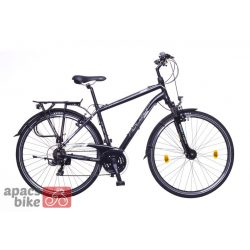 Firenze 100 férfi fekete/ fehér-szürke matte 19 Trekking kerékpár