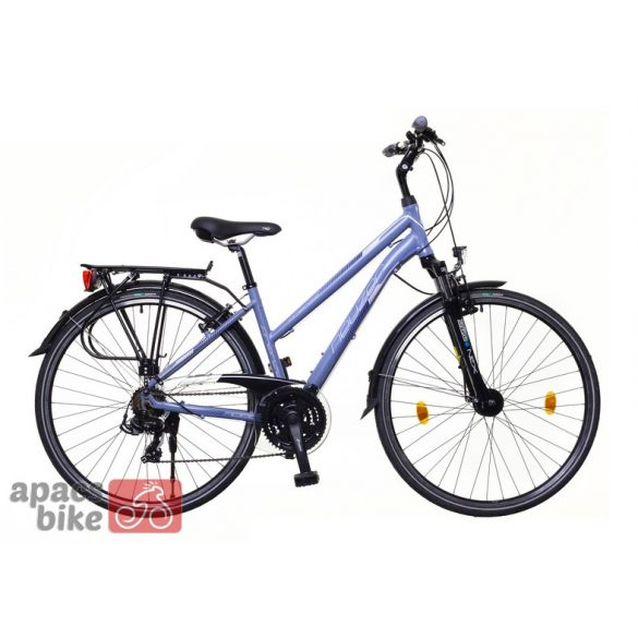 Neuzer Firenze 100 női szürke/ light pink-fekete matte 19 Trekking kerékpár