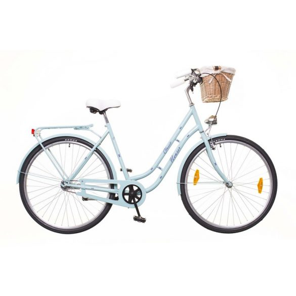 """Neuzer Classic Prémium 28"""" 1S celeste/fehér-blue City - Városi kerékpár"""
