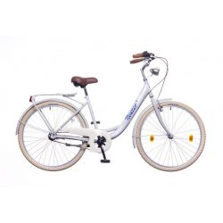 """Balaton Premium 26"""" 1S női szürke/kék-narancs City - Városi kerékpár"""