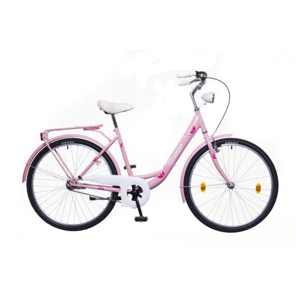"""Neuzer Balaton 26"""" Plus női rózsaszín/ City - Városi kerékpár"""