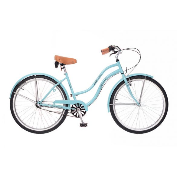 Neuzer California női celeste Cruiser kerékpár
