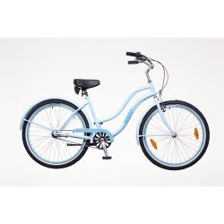 Neuzer Miami női babyblue/türkiz Cruiser kerékpár