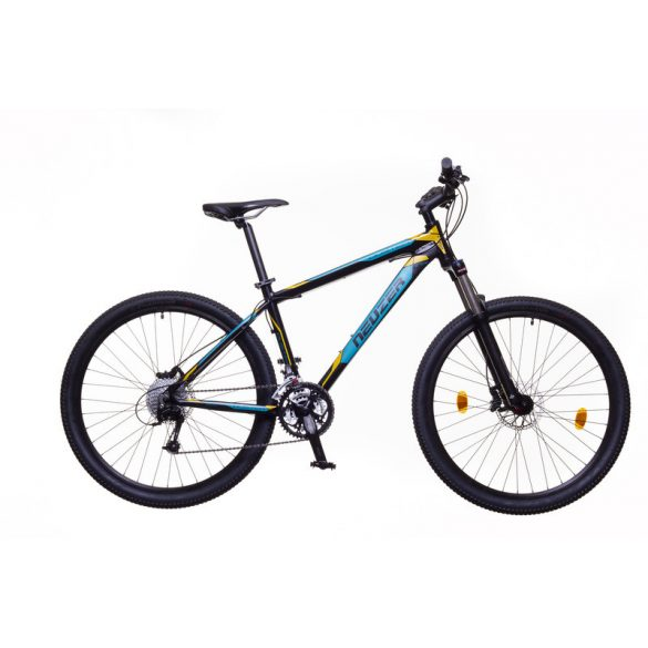 Neuzer Duster Pro férfi fekete/türkiz-sárga  17 MTB Sport kerékpár