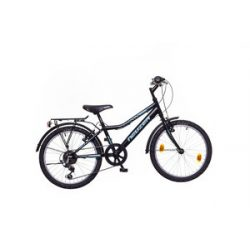 Bobby 20 CITY fekete/celeste-zöld Gyerek kerékpár